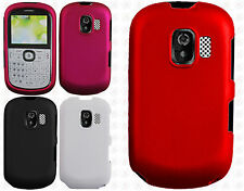 AT&T GoPhone Alcatel 871A Rubberized HARD Case Snap On Phone Cover Accessory