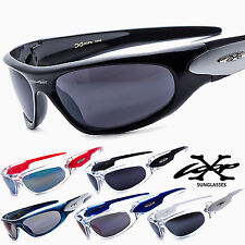 Mens Sports Wraparound X-Loop Sunglasses Training Shades Stylish NEW