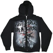 The Walking Dead Dead Inside Official Licensed Authentic AMC Adult Hoodie Zip-UP