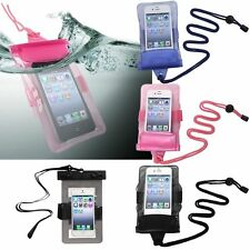 Color Waterproof Pouch Dry Bag Protector Skin Case Cover For Cellphone Mobile