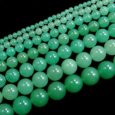 Natural Aventurine Gemstone Round Beads 15.5'' Strand 4mm 6mm 8mm 10mm 12mm