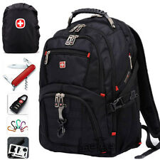 "SwissGear Waterproof Backpack Bag Rucksack 17"" Laptop School Satchel Travel Bag"