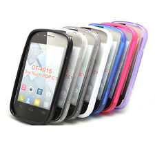 7 Colour Phone TPU Case Cover For For Alcatel One Touch POP C1 OT 4015D 4015