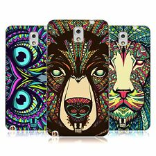 HEAD CASE AZTEC ANIMAL FACES 1 TPU GEL BACK CASE FOR SAMSUNG GALAXY NOTE 3 N9000