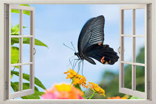 Butterfly 3D Window Decor Removable Sticker Kids Decals Nursery Flower Colors