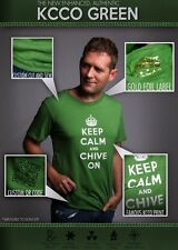 "the Chive *Authentic* ""Keep Calm and Chive On"" Green t-shirt KCCO BFM M L XL XXL"