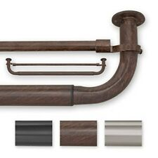 Barricade 30 to 52-inch Adjustable Energy Efficient Double Curtain Rod