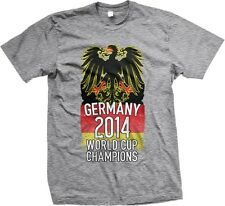 Germany 2014 World Cup Champions German Eagle Flag Soccer Oversize-Men's T-shirt