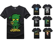 Hot fashion Amumu Teemo Rivan League of Legends LOL short sleeve T-SHIRT Cosplay