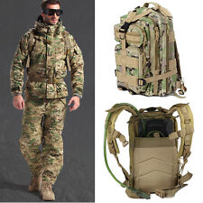 Outdoor 3D Sport Camping Trekking Hiking Bag Military Tactical Rucksack Backpack