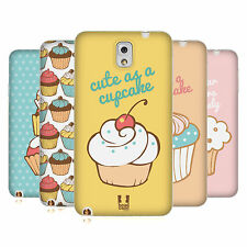 HEAD CASE CUPCAKES TPU GEL BACK CASE COVER FOR SAMSUNG GALAXY NOTE 3 N9005