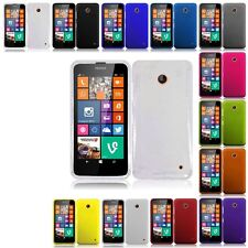 Colorful Rubberized Slim Thin Hard Case Snap On Phone Cover For Nokia Lumia 635