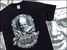 DR Hannibal Lecter Parody Silence Of The Lambs Tee Cannibal Horror T-Shirt