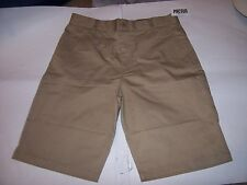 New Fox Racing beige tan khaki chino long walking shorts sz 27 or 36