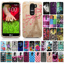 For LG G2 mini D620 Case Accessory HARD Cover Shield Protector Shield Leopard