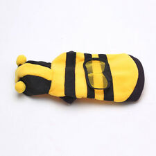 Cute Honey Bumble Bee Design Costume Outfit Clothes For Small Dog Cat
