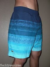NWT! Mens Lacoste Swim Trunks Board Shorts Croc Logo Eclipse Blue Choose Size