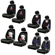 Brand New Classic Cartoon Universal Fit Car Truck Front Low-Back Seat Covers