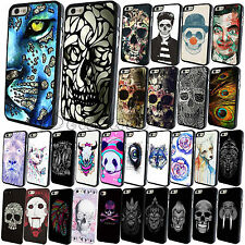 New Ink Classic Skull Rigid Plastic Phone Skin Case Cover For iPhone 4 4S 5S 5C