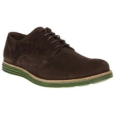 New Mens SOLE Brown Parker Suede Shoes Modern Classics Lace Up