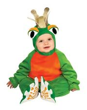 Frog Prince Costume Infant Baby Toddler Halloween Kiss Toad Crown 6-12M 12-18M