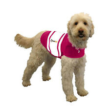 XXL Dog Thundershirt Pink Rugby - Relief for Anxiety Calms Stress Fear Bark Jump