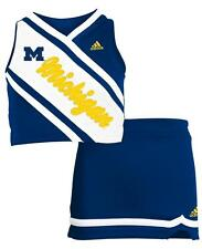 Michigan Wolverines Adidas NCAA Toddler Girls Cheerleader 2 Piece Set