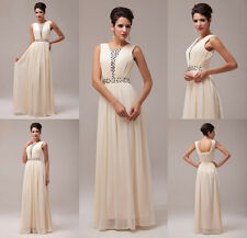 GK Stock Ladies Cocktail Party Dress Bridesmaid Evening Ball Gowns Ceremony Prom