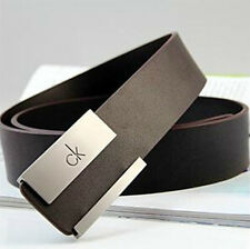 New 120cm metal buckle belt men belt black, brown