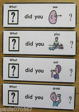 Ice breaker cards! Lets do it! Discuss and talk about? Life~Pecs~Autism~ASD~SEN~