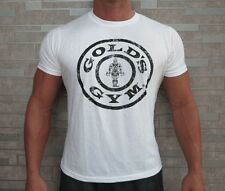Golds Gym Muscle Fit Top Bodybuilding T-shirt Gym Wear Multiple Colours & Styles