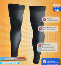 Compression Tights Leg Warmers Tri Running Marathon Cycling Biking Racing Runner