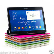 "SUPERNIGHT Protective Folio Case for Samsung Galaxy Tab 4 10.1"" T530 T531 T535"