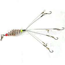 1 Package Paternoster Rig Fishing Bait Cage Explosive 7 Hooks For Outdoors