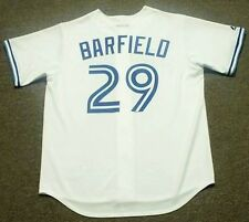 JESSE BARFIELD Toronto Blue Jays 1989 Majestic Cooperstown Home Baseball Jersey