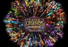 LEAGUE OF LEGENDS GAME Poster Print
