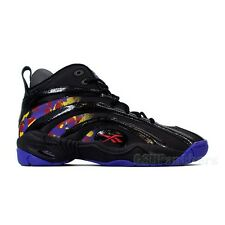 "Reebok Shaqnosis ""Escape from LA"" (Black/Purple/Yellow/Red) Men's Shoes V61028"