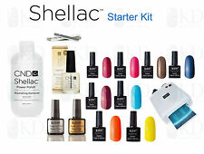 Bluesky UV Nail Gel Kit- CND Shellac Files, CND Oil, CND Nourishing Remover
