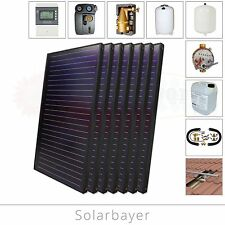 Solarbayer Solar Package Solar Thermal Heating Solar Collector Sun Collector