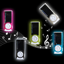 USB Mini MP3 Player LCD Screen Maximum 16GB Micro SD TF Card With LED Light