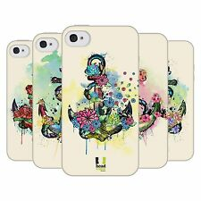 HEAD CASE FLOURISHING ANCHOR TPU GEL BACK CASE COVER FOR APPLE iPHONE 4
