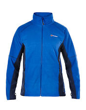 Berghaus Mens Prism Micro Full Zip Fleece Jacket IA - Intense Blue Dusk