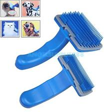 A#S0 Pet Dog Cat Fur Hair Grooming Self Quick Clean Shedding Tool Brush Comb
