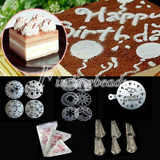 DIY Cake Fondant Craft Decorating Cutter Sugarcraft Tools Mold Pastry Tips Bags