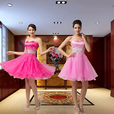 Girl ❤SWEET Formal Bridesmaid Cocktail Prom Short Party Homecoming Evening Dress
