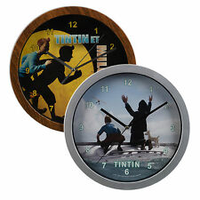Tintin Wall Clock Children Bedroom Playroom Captain Haddok And Snowy Gift