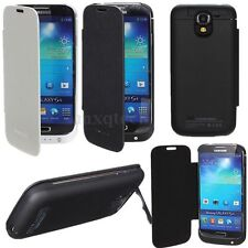 3200mAh External Backup Battery Charger Flip Case For Samsung Galaxy S4 IV i9500