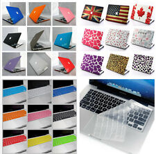 """2in1/ Rubberized Hard Case Shell+Keyboard Cover For Macbook Air 13""""&11"""" inch"""