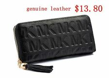 Behands Handbag Women Genuine Leather Wallets Day Clutches Zip-Around Bags