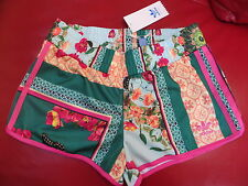 WOMENS ADIDAS ORIGINALS BORBOFLOR SHORTS BRAZIL FARM- 8,10,12,14- SOLD OUT!